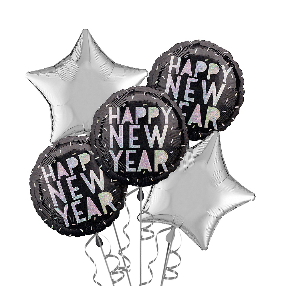 Disco New Year's Eve Balloon Kit Image #1