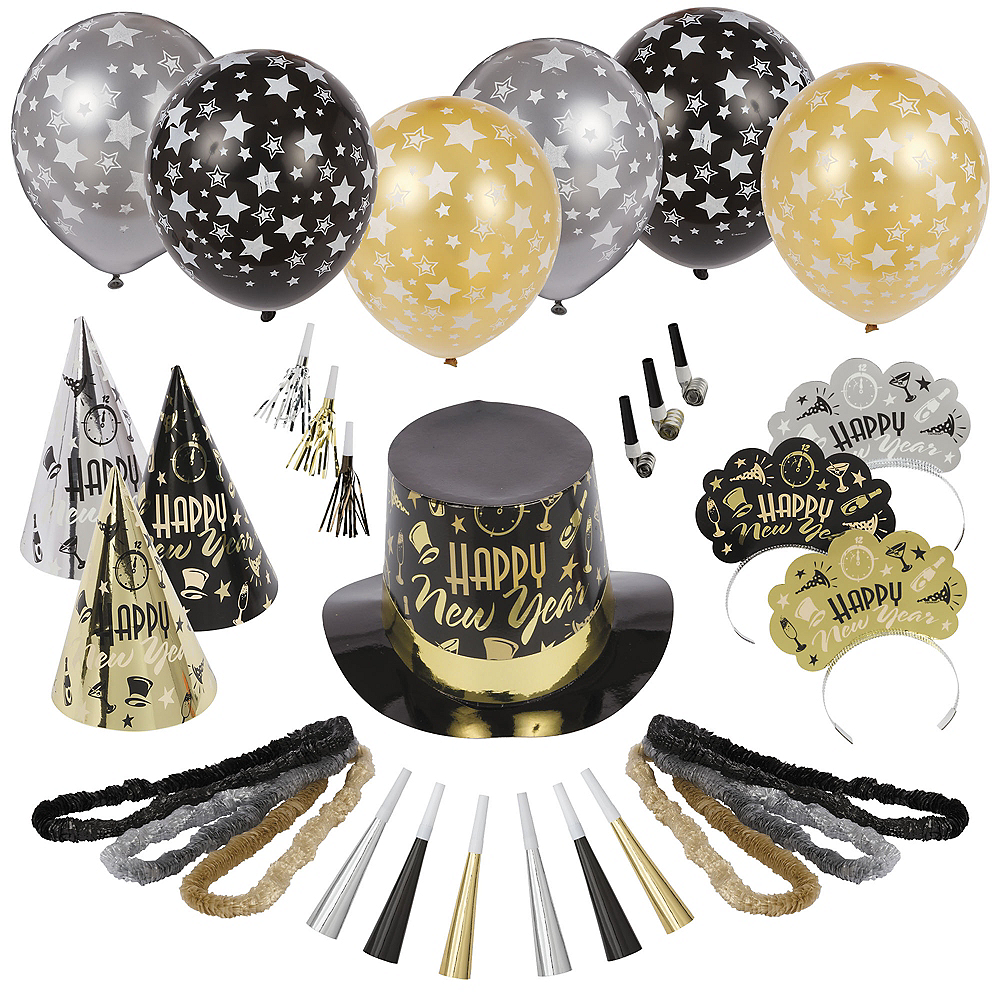 Kit for 600 - Black Tie Affair New Year's Party Kit Image #1