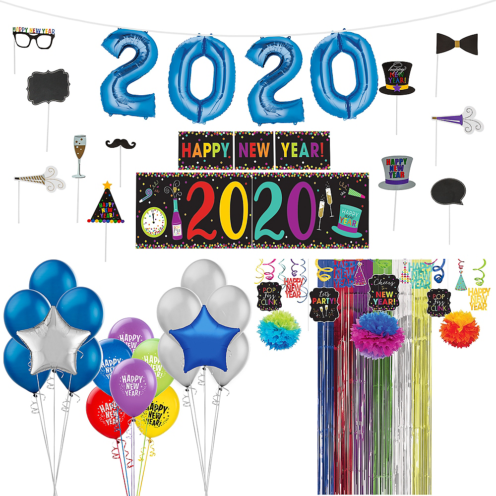 Super Colorful New Year's Decorating Kit Image #1