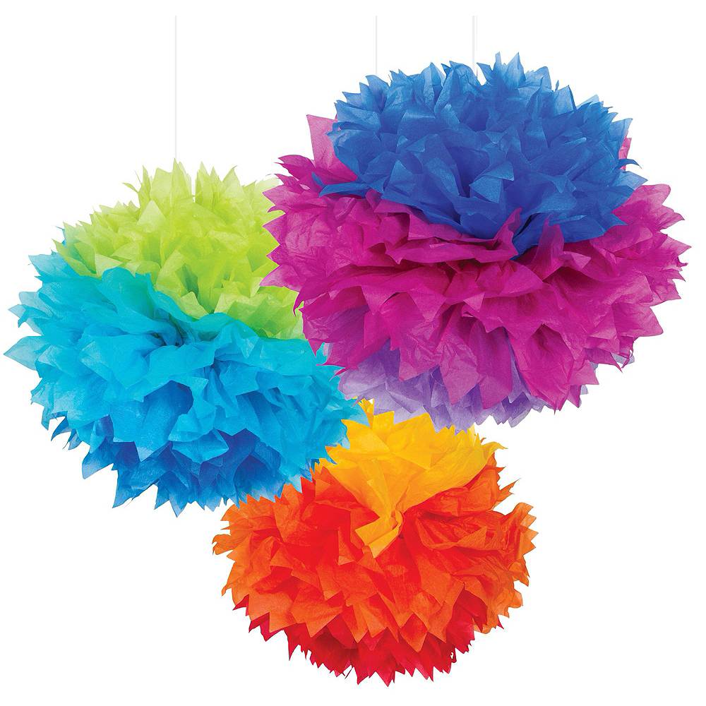 Super Colorful New Year's Eve Accessory & Decor Kit for 100 Guests Image #7