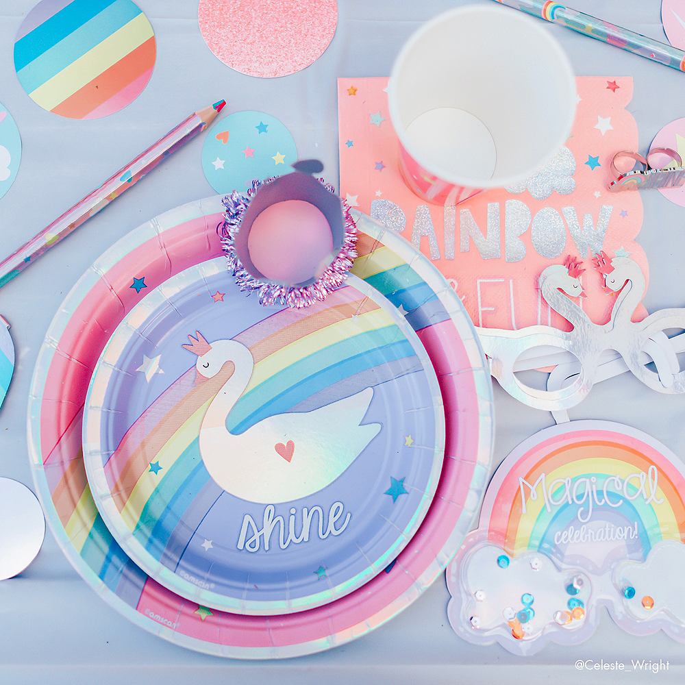 Magical Rainbow Lunch Napkins 16ct Image #4