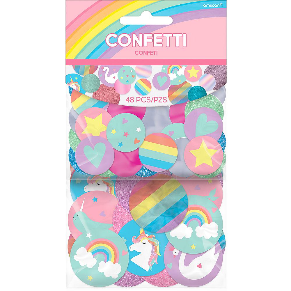 Giant Magical Rainbow Confetti 48ct Image #1