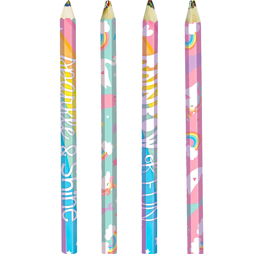 Magical Rainbow Multicolor Pencils 4ct Image #1