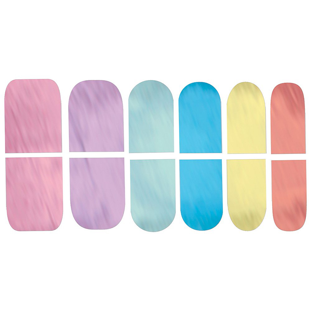 Magical Rainbow Nail Stickers 12ct Image #1