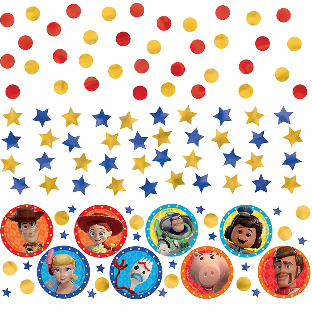Toy Story 4 Confetti Image #1