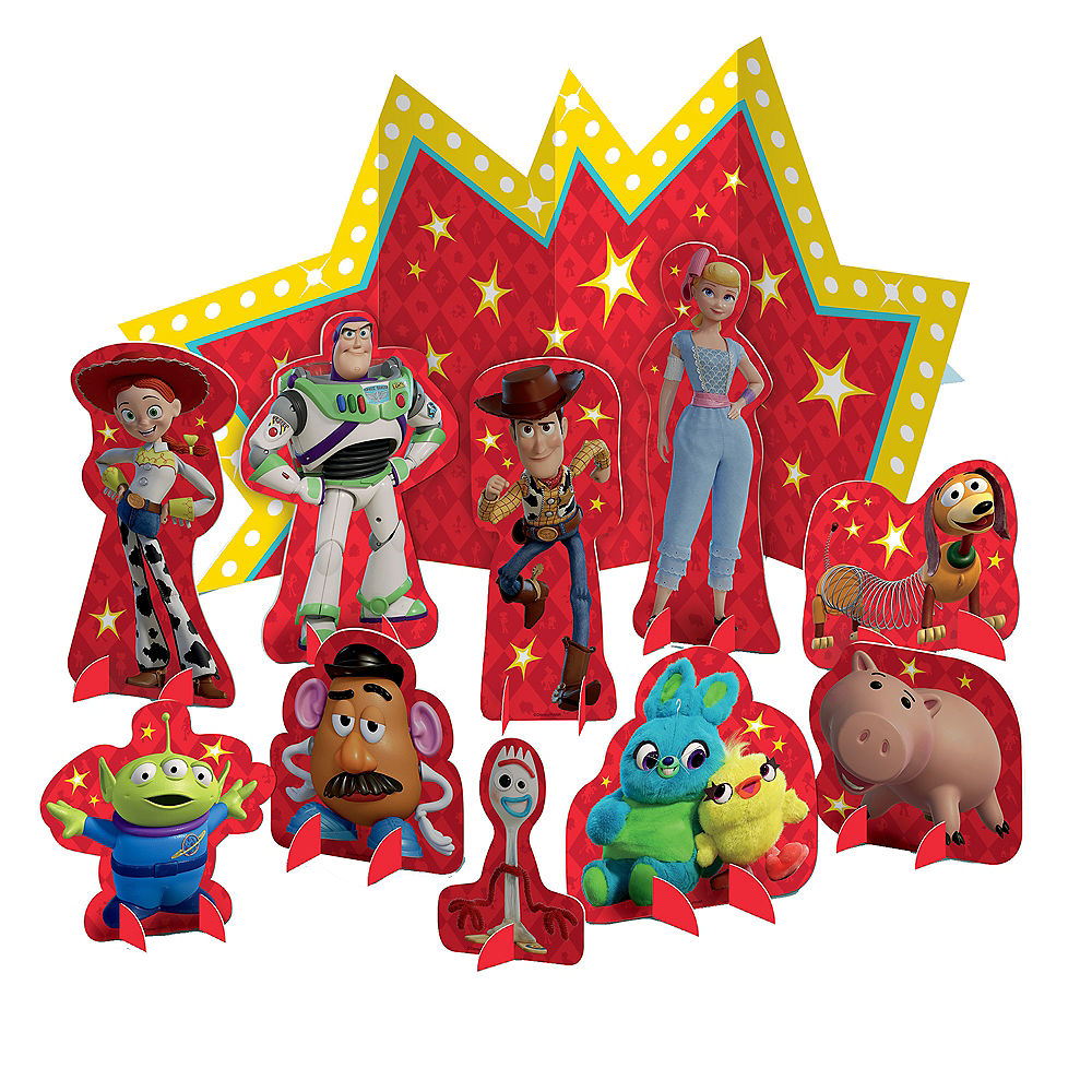 Toy Story 4 Table Decorating Kit 11pc Image #1