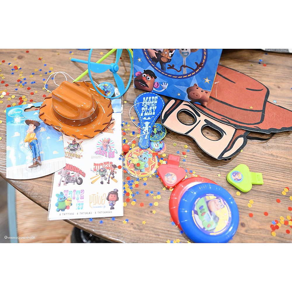 Toy Story 4 Paddle Balls 8ct Image #2