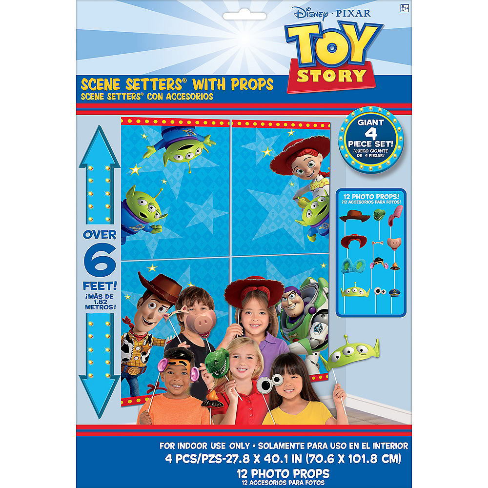 Toy Story 4 Scene Setter with Photo Booth Props Image #4