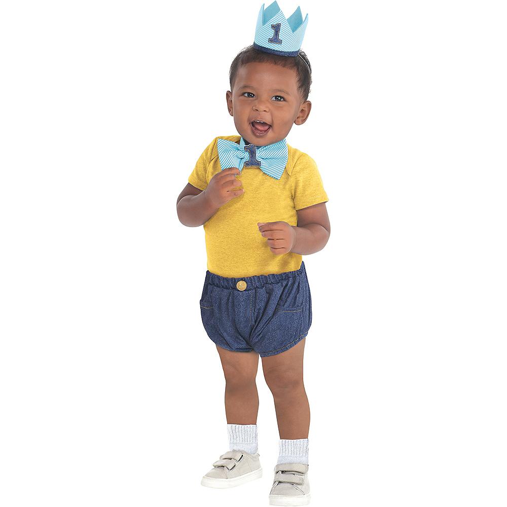 Blue 1st Birthday Accessory Kit Image #1