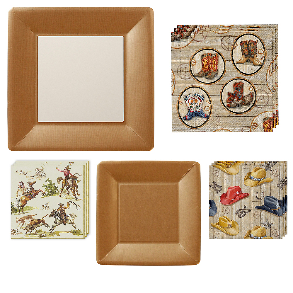 Western Tableware Kit for 16 Guests Image #1