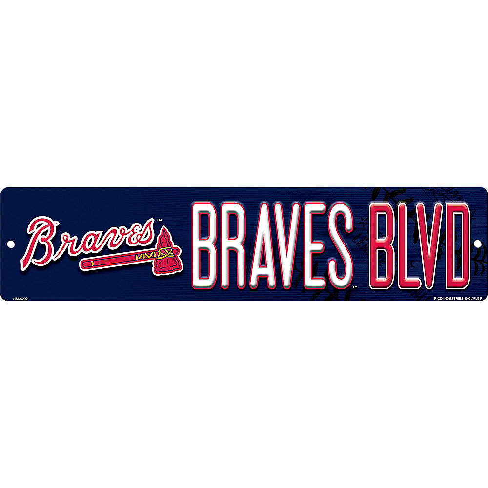 Atlanta Braves Street Sign Image #1