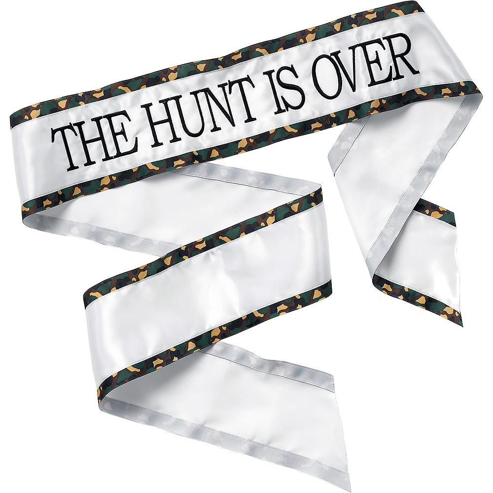 Hunt Is Over Sash Image #1