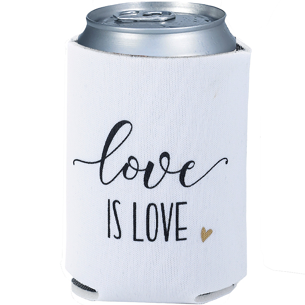Love Is Love Can Coozies 2ct Image #1
