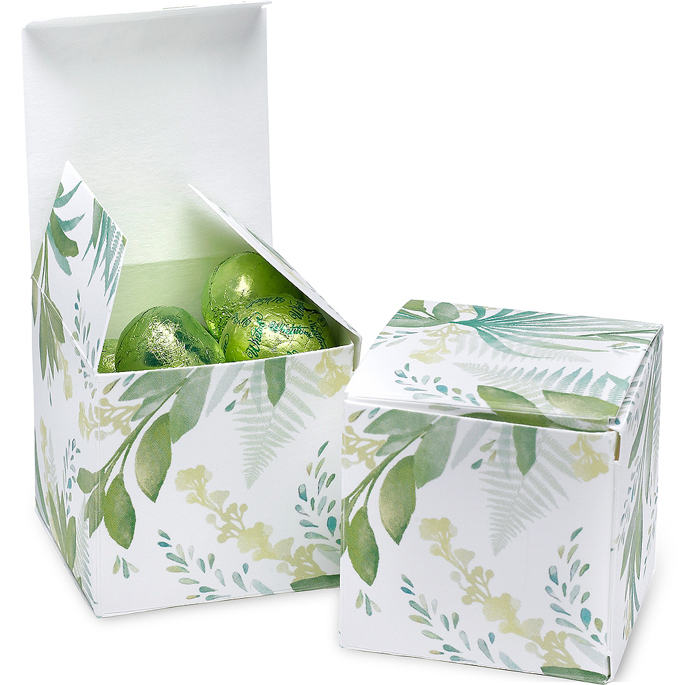 Greenery Treat Boxes 25ct Image #1