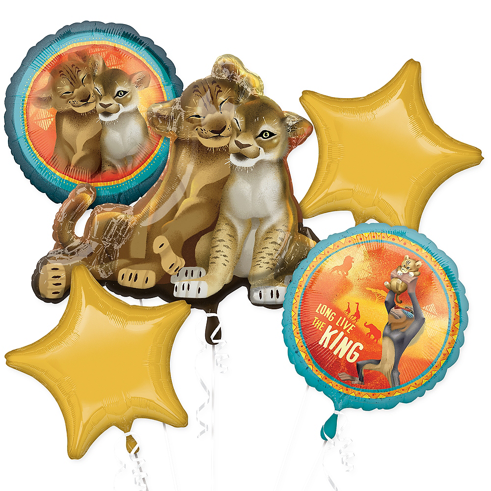 The Lion King Balloon Bouquet 5pc