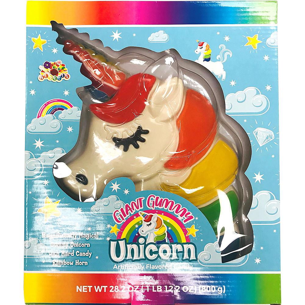 Giant Gummy Unicorn 1.76lb Image #1