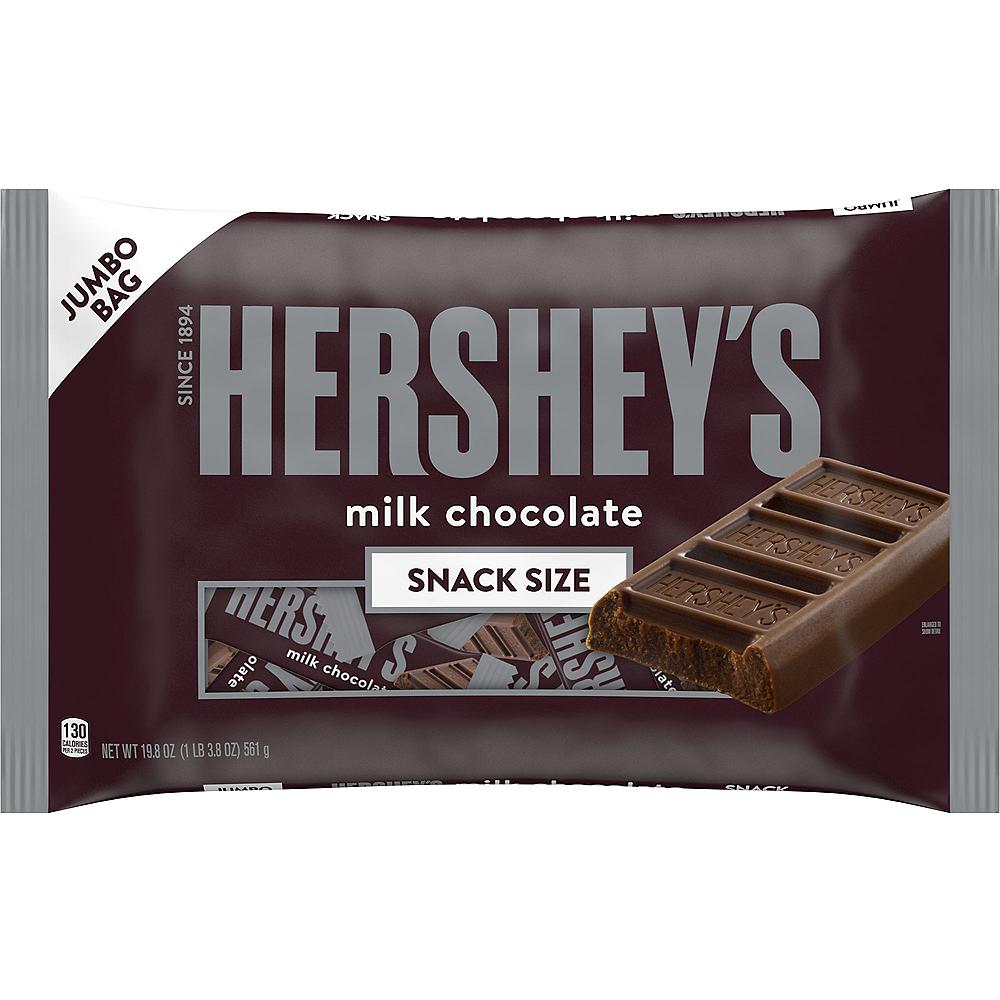 Milk Chocolate Snack Size Hershey's Bars 44ct Image #1