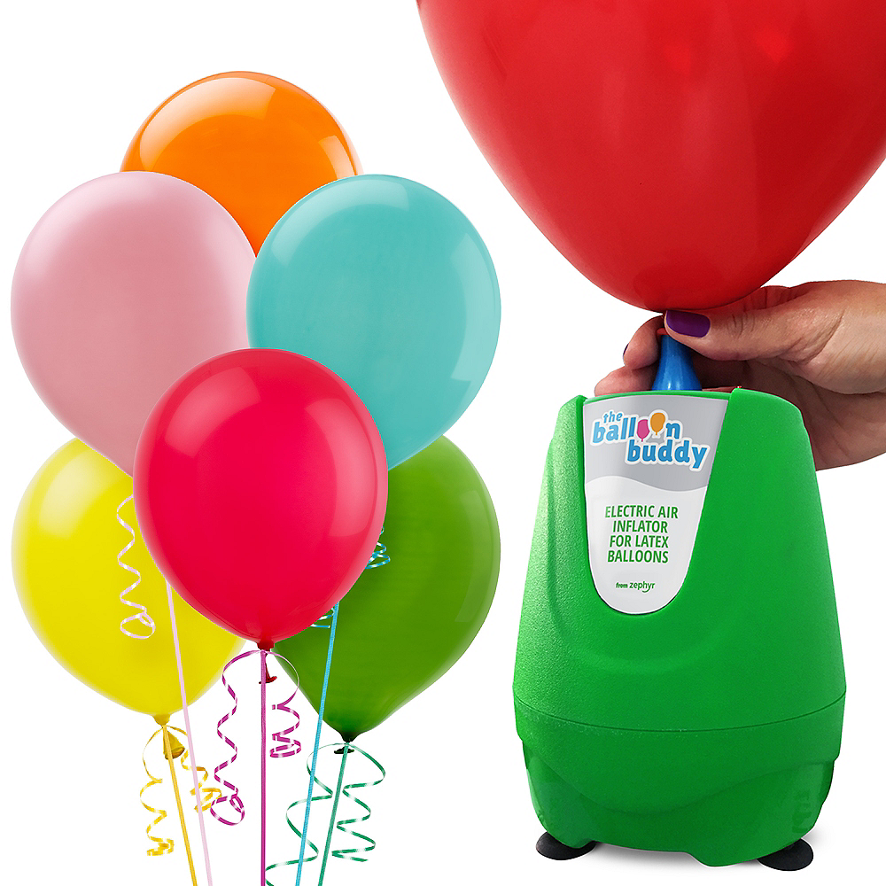 Balloons & Balloon Pump Kit Image #1