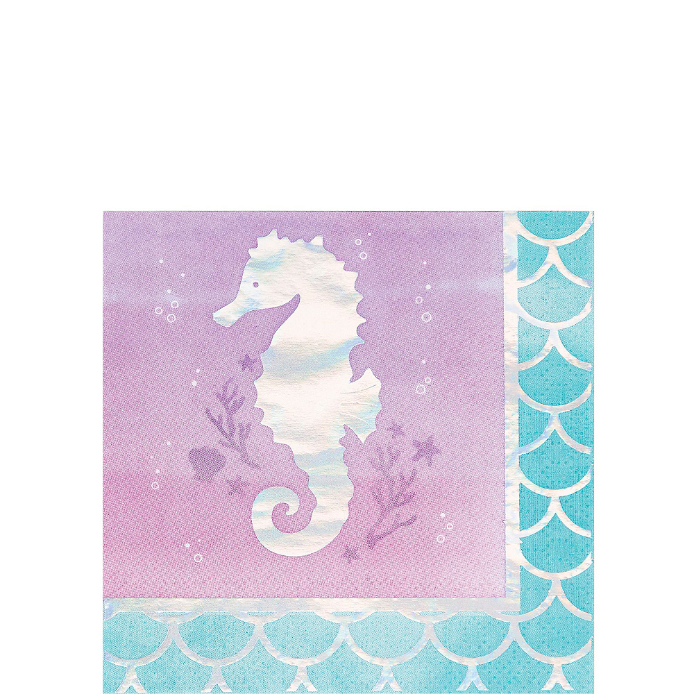 Shimmer Mermaid Basic Party Kit for 8 Guests Image #4