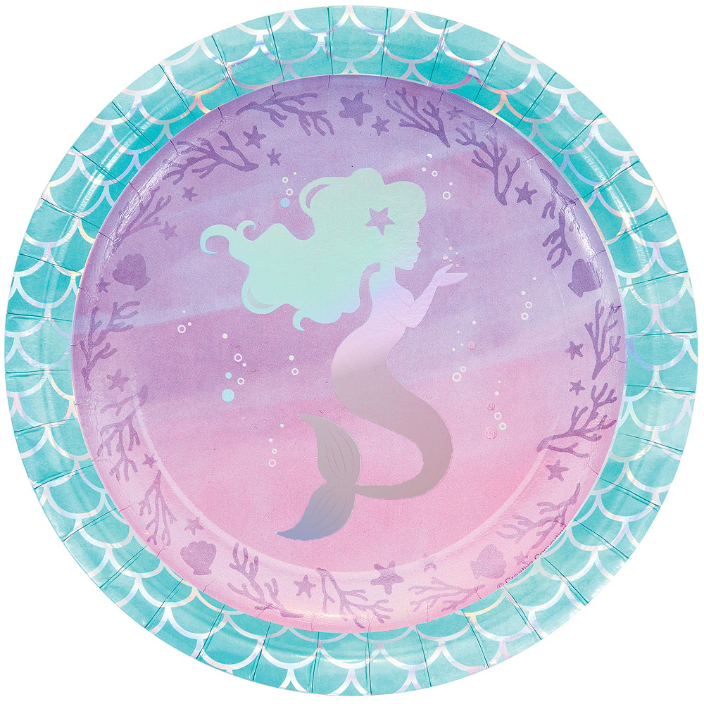 Shimmer Mermaid Ultimate Party Kit for 16 Guests Image #3