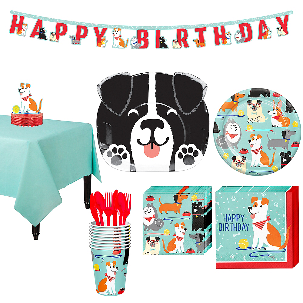 Dog Party Kit For 8 Guests City