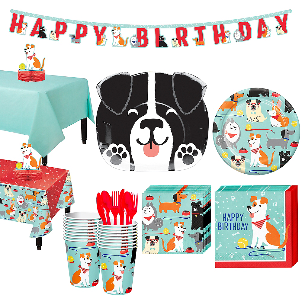 Dog Party Kit for 16 Guests Image #1