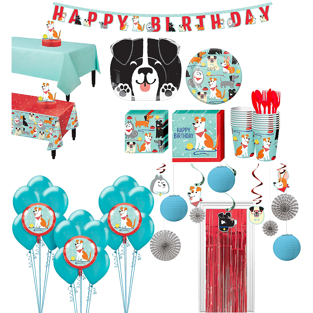 Ultimate Dog Party Kit for 16 Guests Image #1