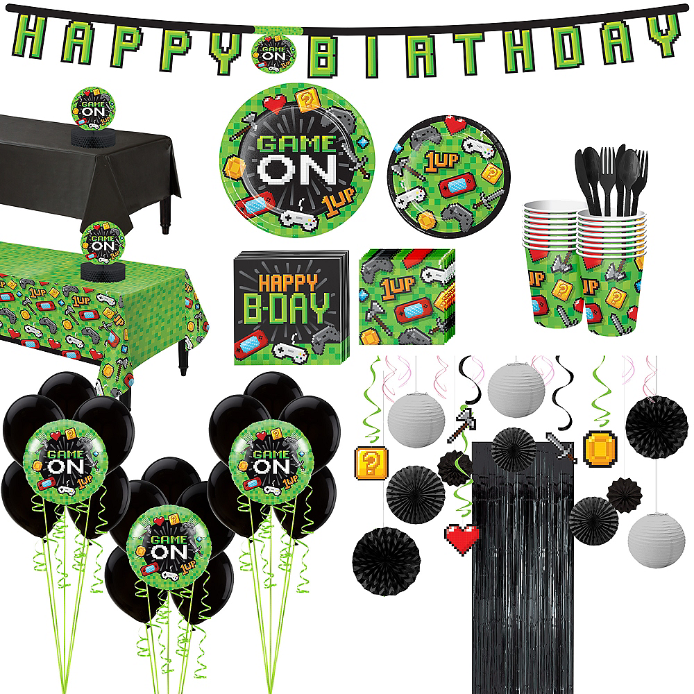 Ultimate Video Game Party Kit for 16 Guests Image #1
