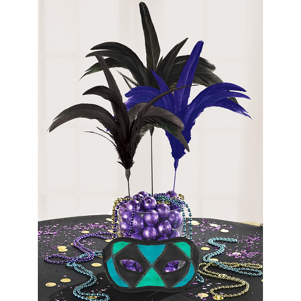 A Night in Disguise Feather Party Picks 3ct Image #2
