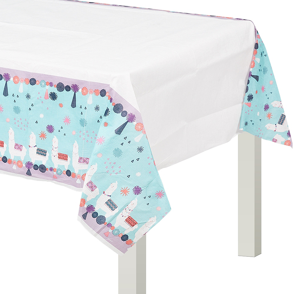 Llama Fun Paper Table Cover Image #1