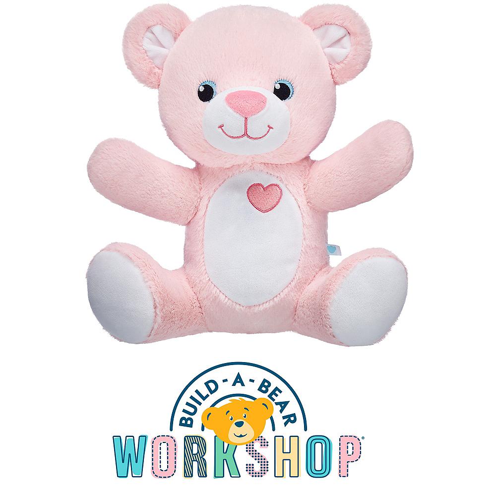 Pink Message Bear - Build-A-Bear Image #1