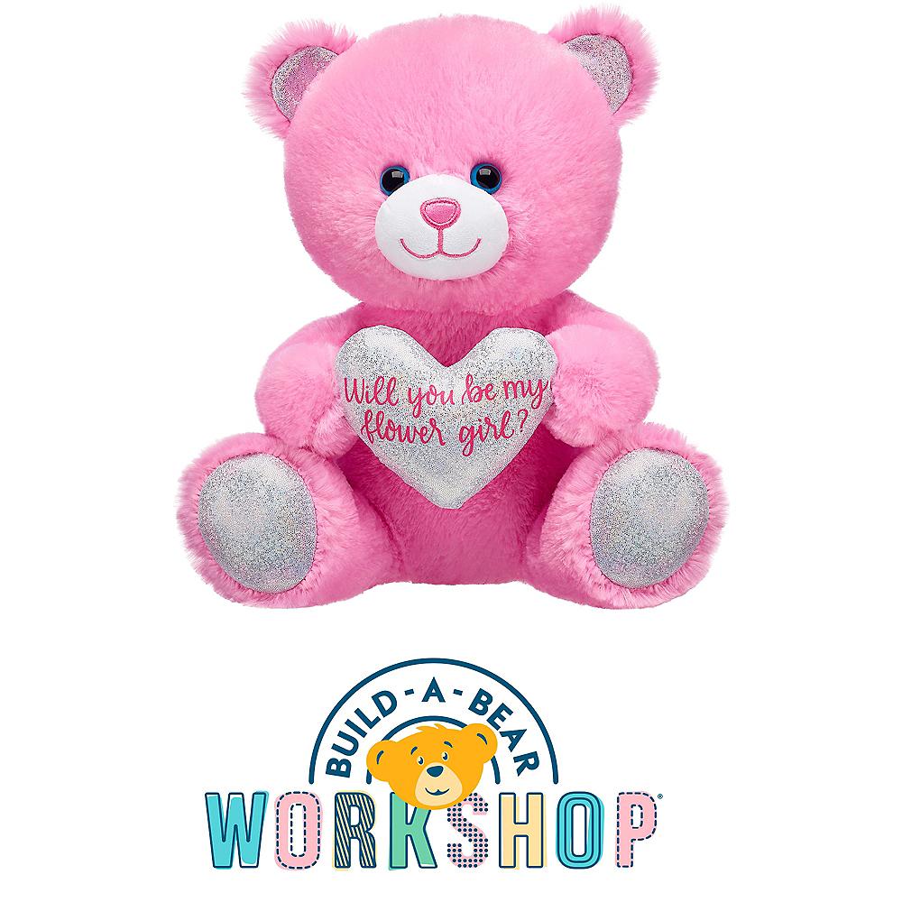 Pink Flower Girl Teddy Bear Plush - Build-A-Bear Image #1