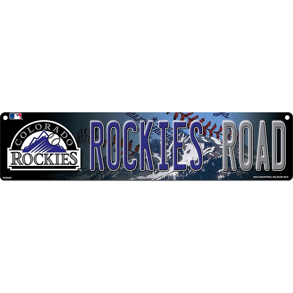 Colorado Rockies Street Sign Image #1