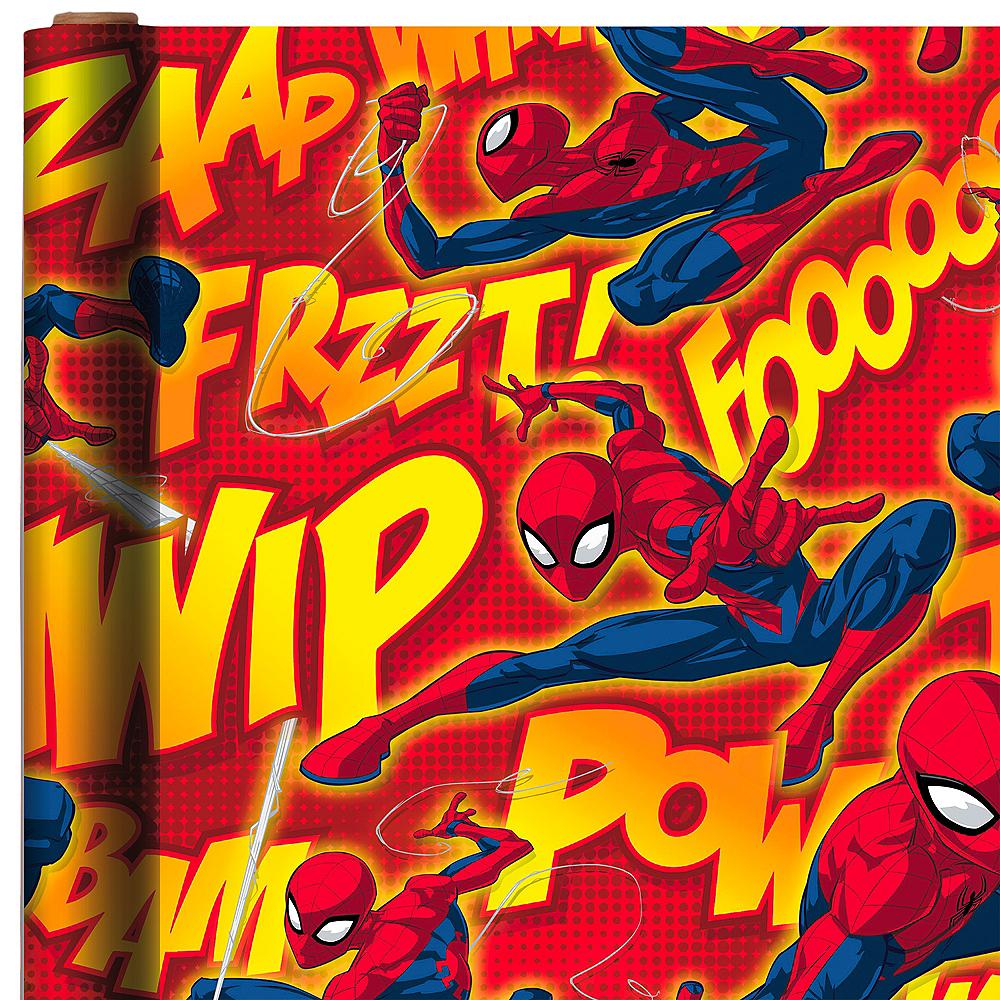Comic Spider-Man Gift Wrap Image #1