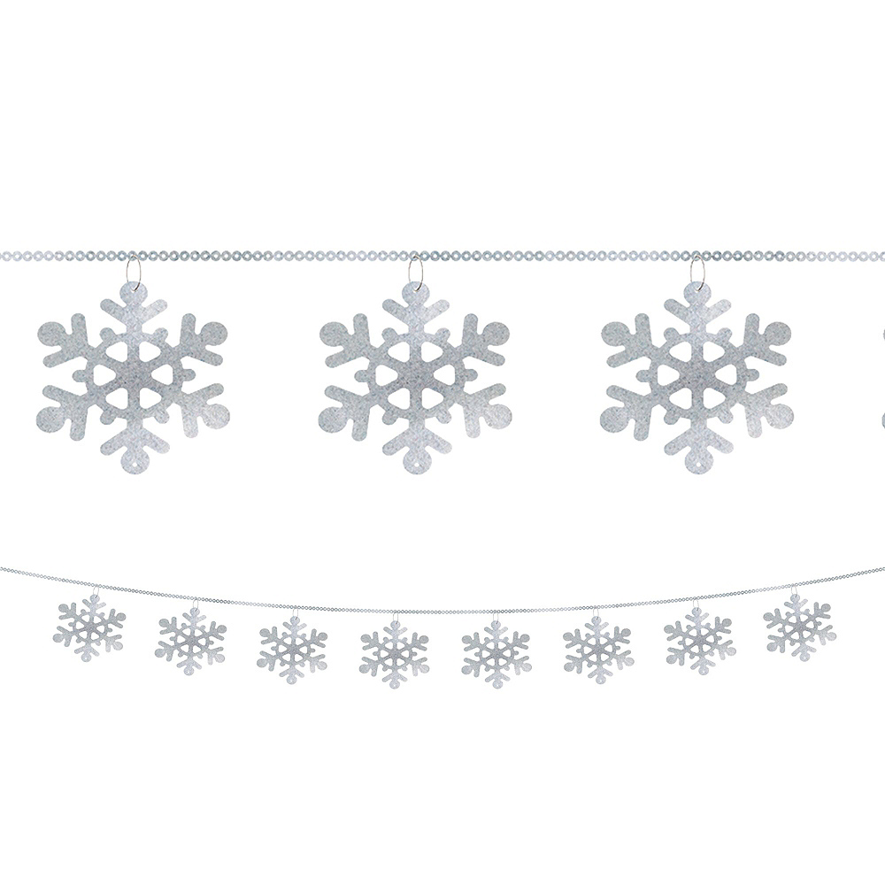 Deluxe Let it Snow Winter Decorating Kit Image #3