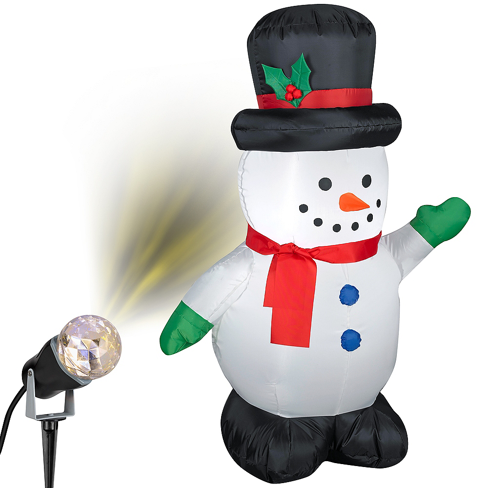 Snowman Outdoor Decorating Kit Image #1