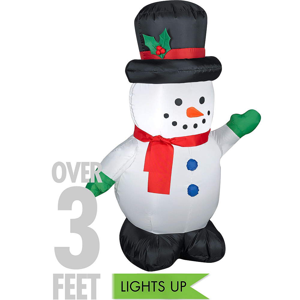 Snowman Outdoor Decorating Kit Image #2
