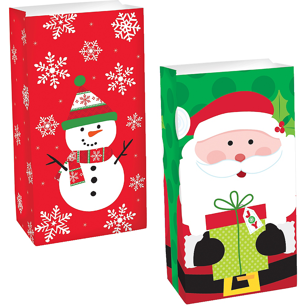 Classroom Christmas Treat Bag Bundle 100pc Image #1