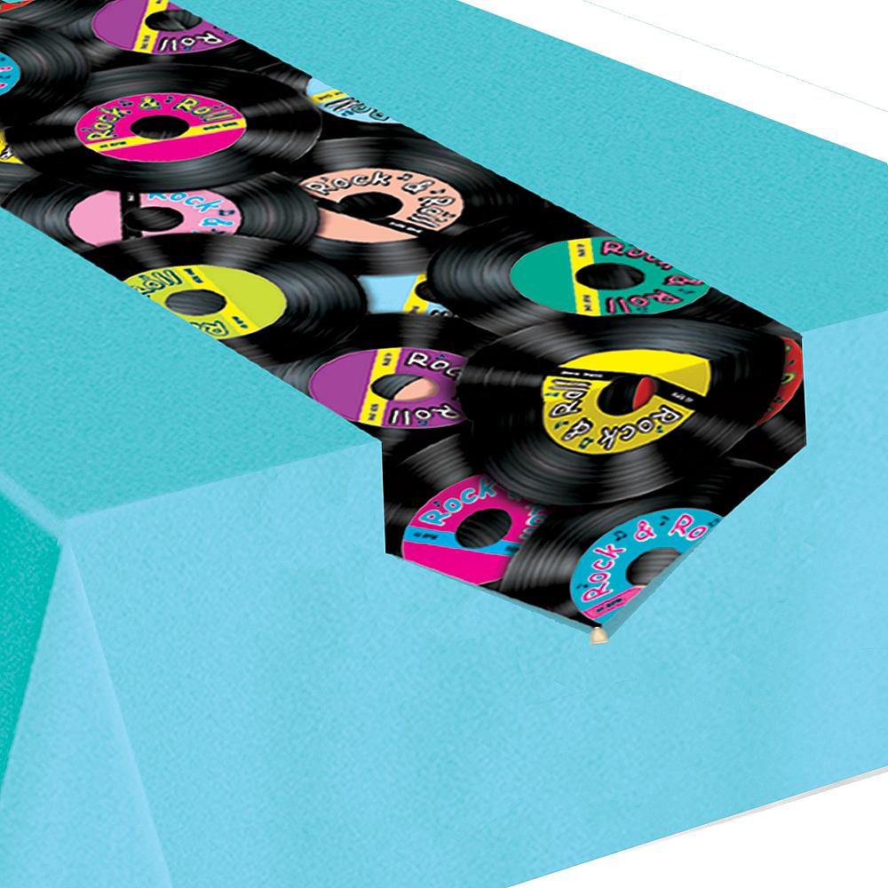 Rock 'n' Roll 50s Paper Table Runner Image #1