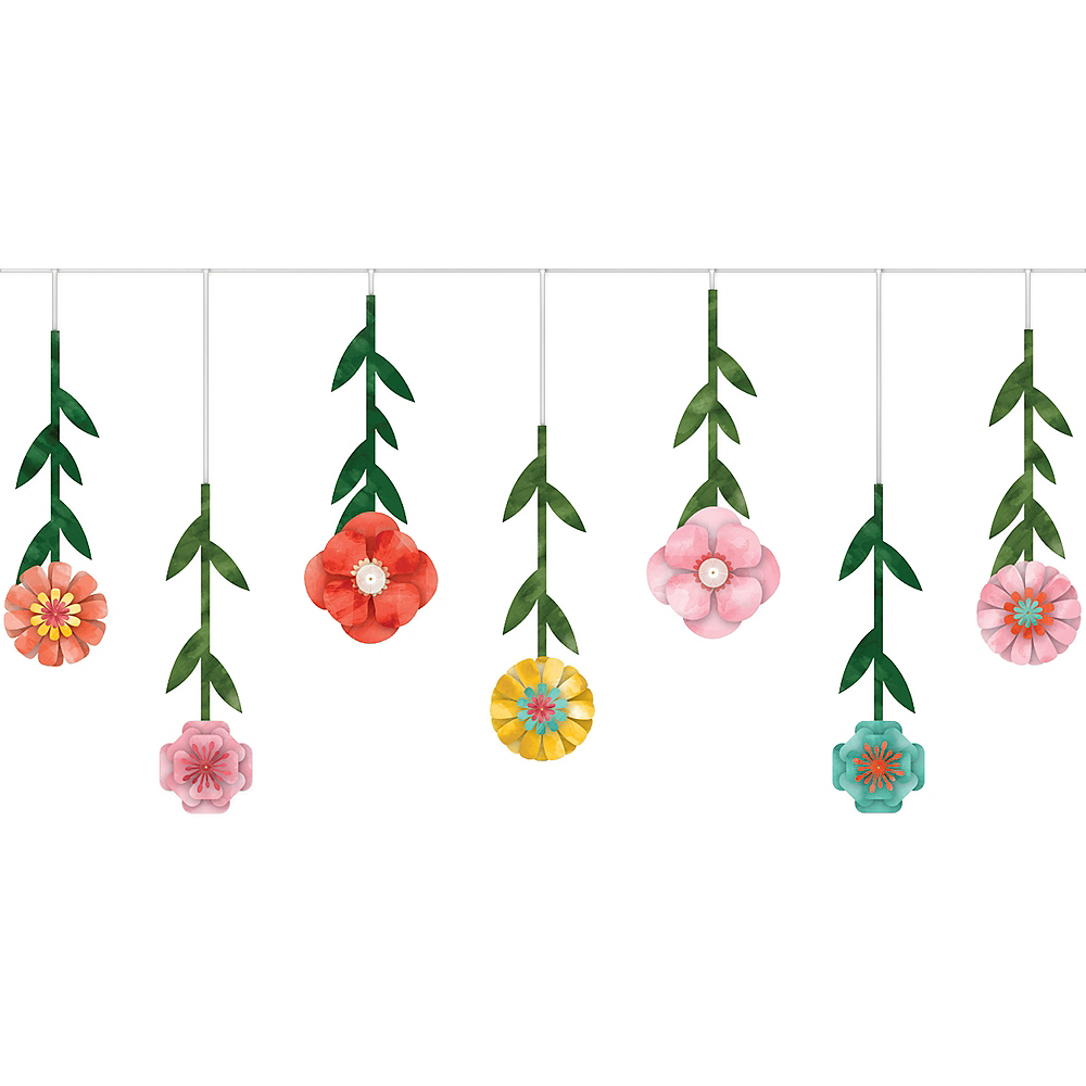 Bright Floral Garland Image #1