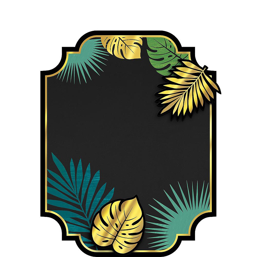 Key West Palm Leaf Chalkboard Easel Sign Image #1