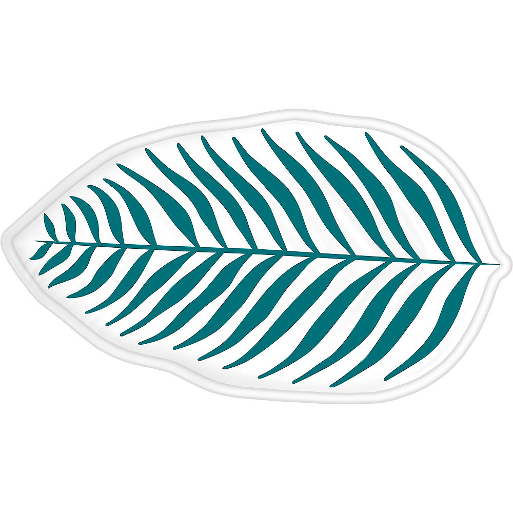 Shaped Key West Palm Leaf Platter Image #1