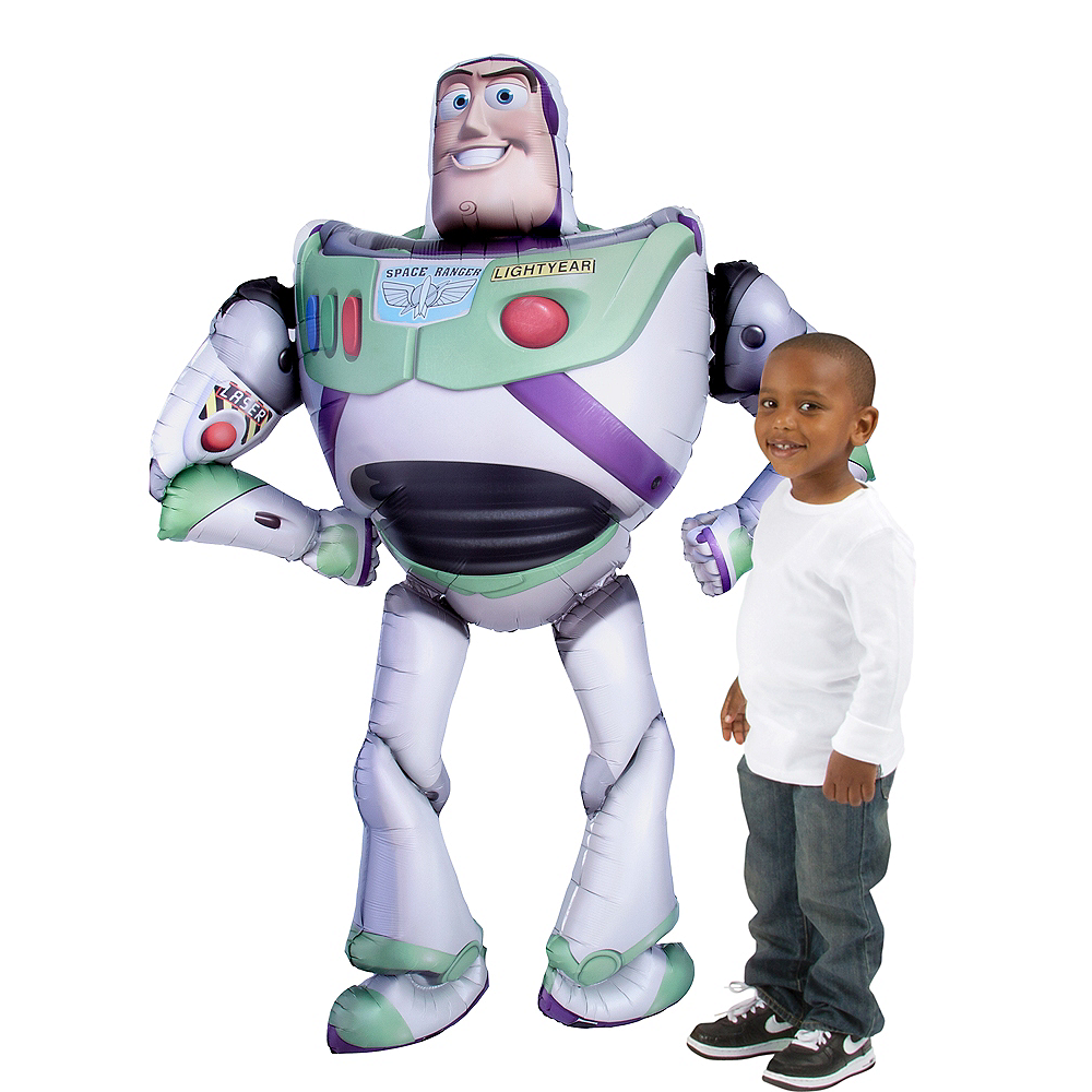 Giant Gliding Buzz Lightyear Balloon - Toy Story 4 Image #1