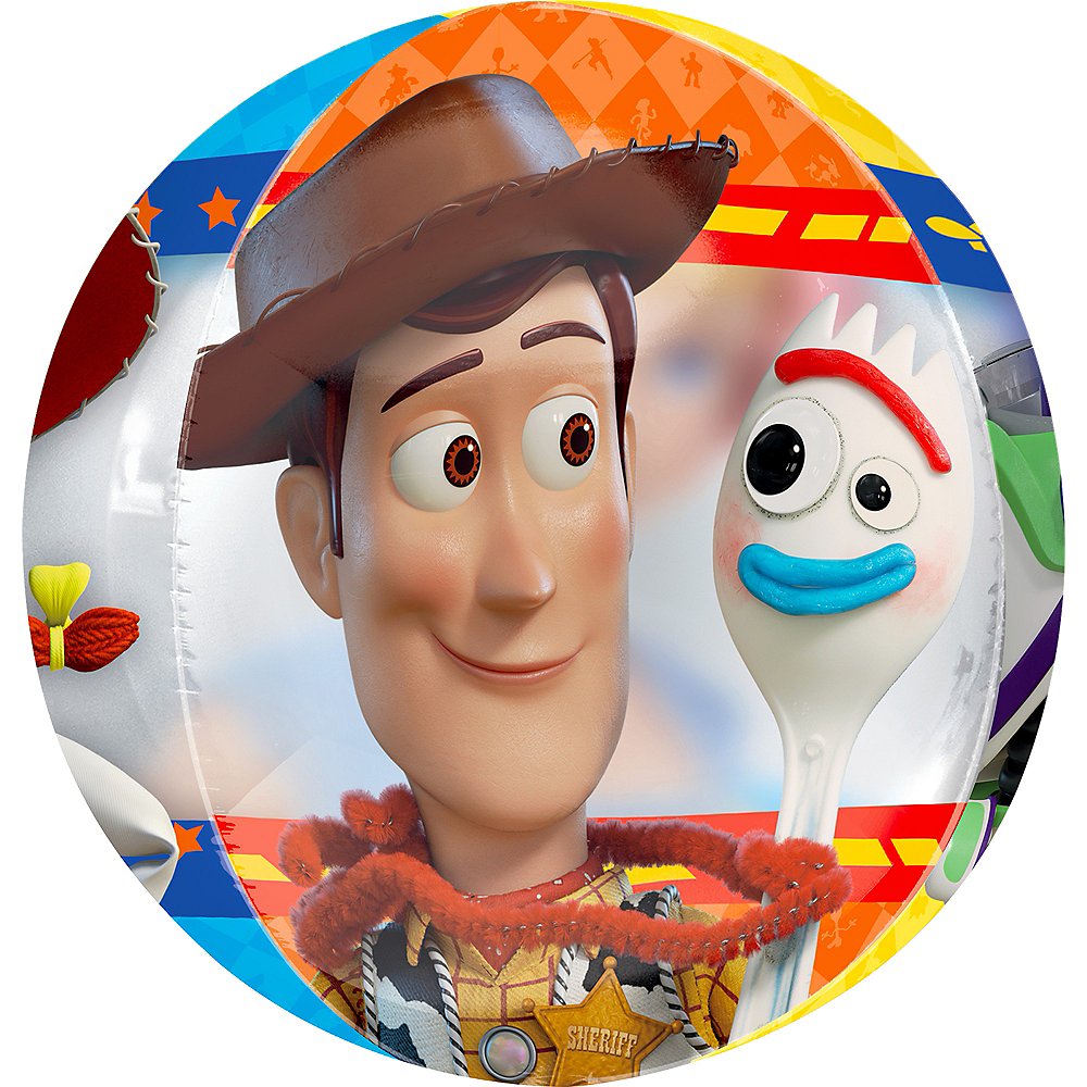Nav Item for Toy Story 4 Balloon - See Thru Orbz Image #2