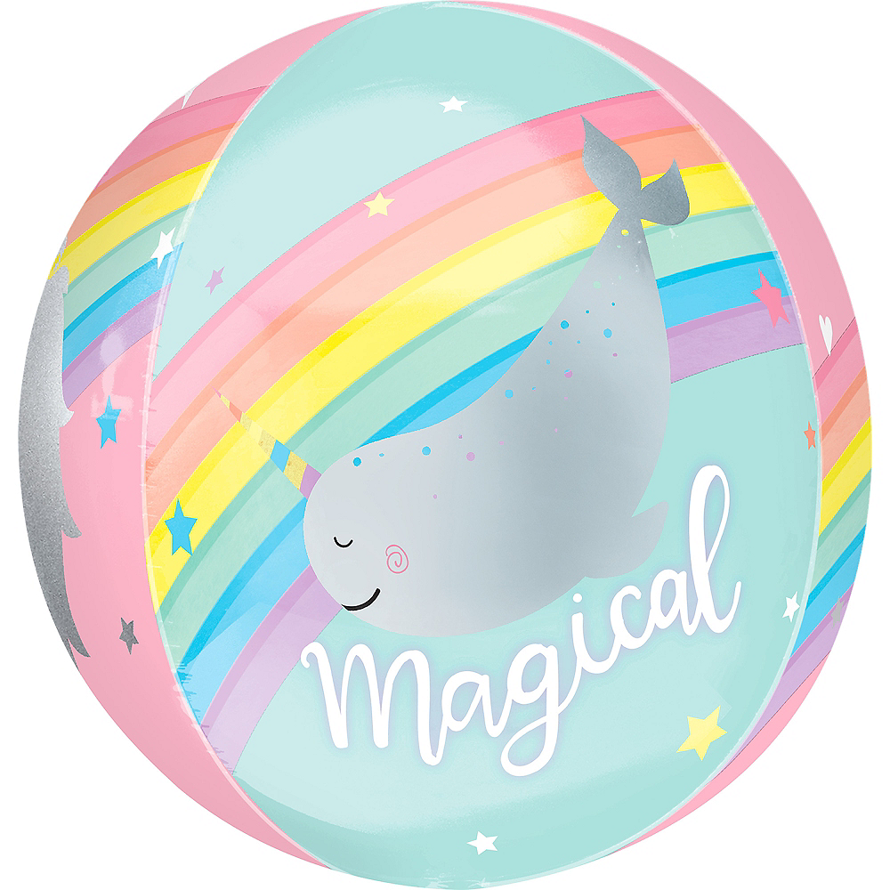 Nav Item for Magical Rainbow Balloon - See Thru Orbz Image #1