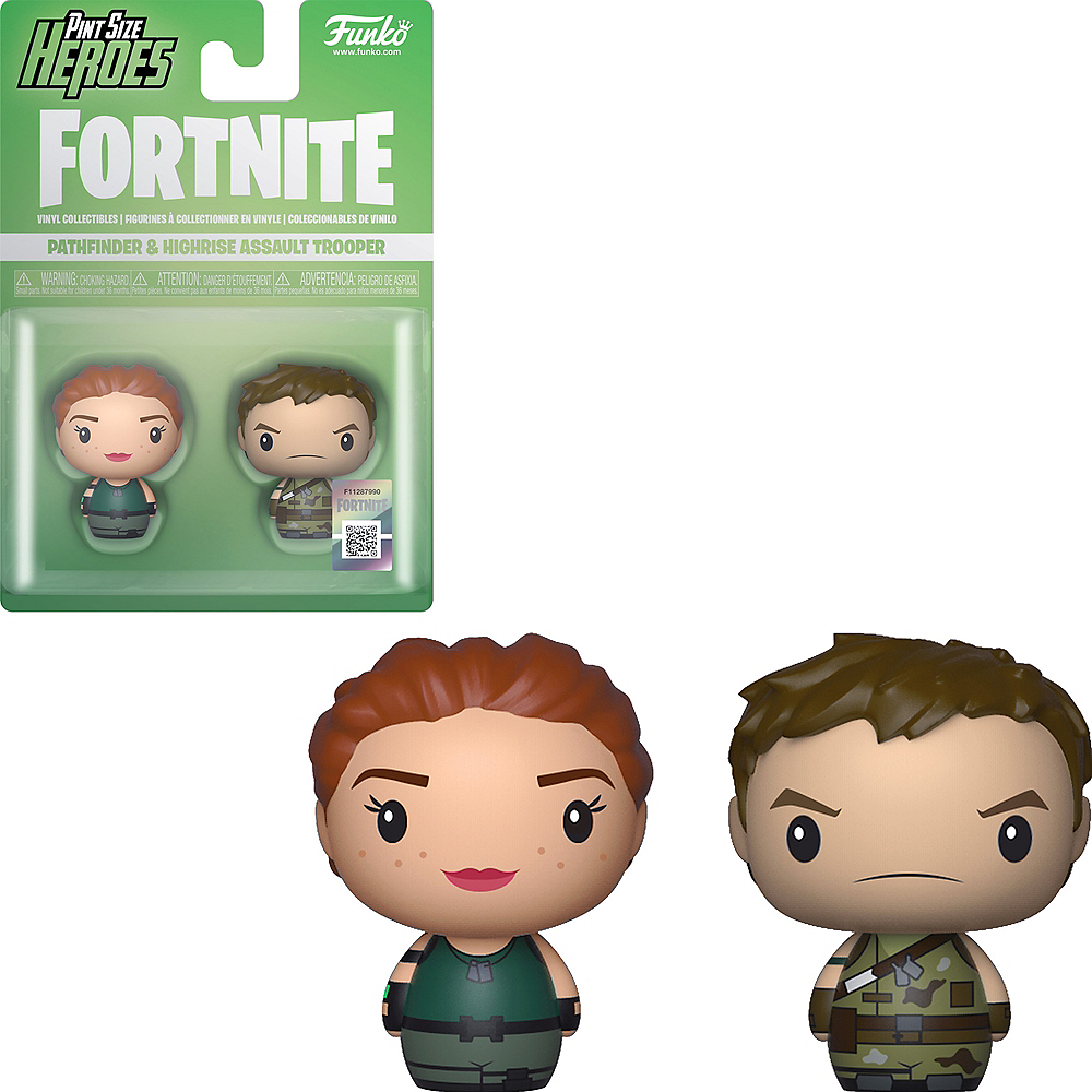 Funko Pint Size Heroes Pathfinder & Highrise Figures - Fortnite Image #1