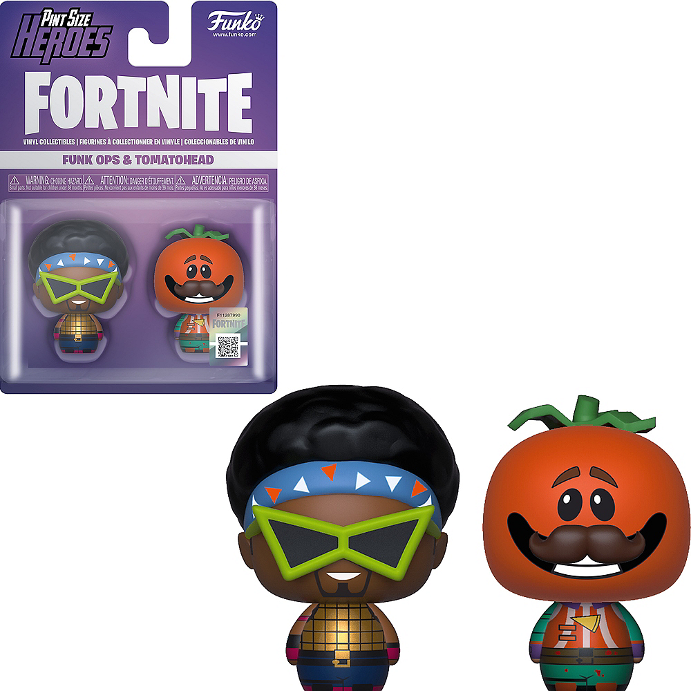 Funko Pint Size Heroes Funk Ops & Tomatohead Figures - Fortnite Image #1