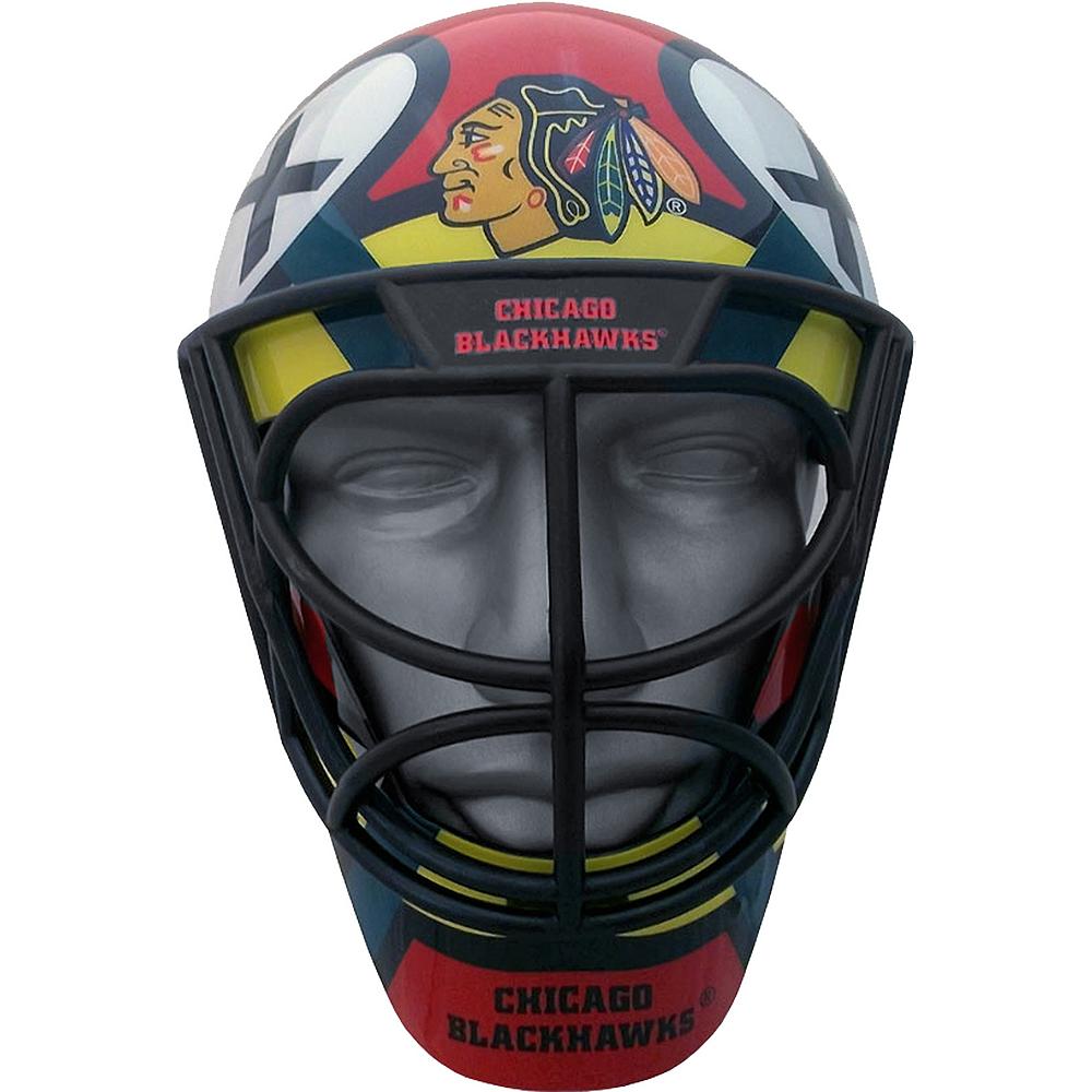 Chicago Blackhawks Helmet Fanmask Image #1