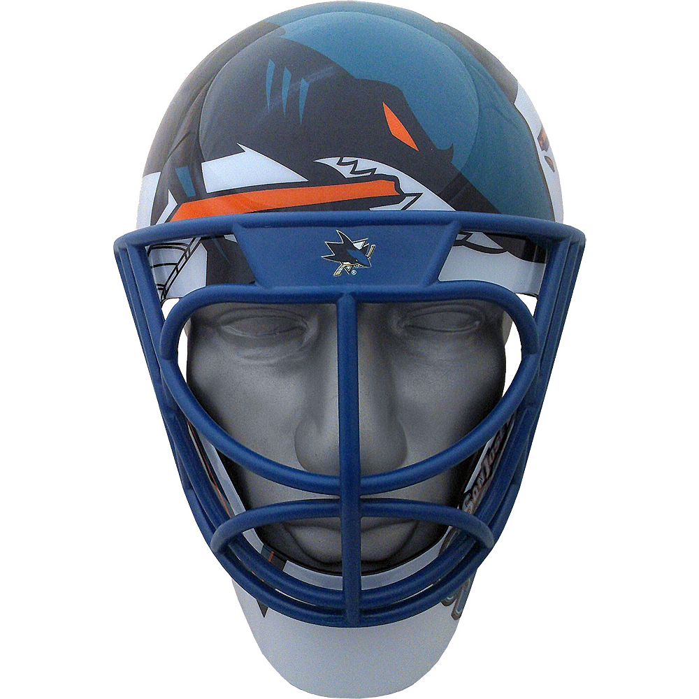 Nav Item for San Jose Sharks Helmet Fanmask Image #1