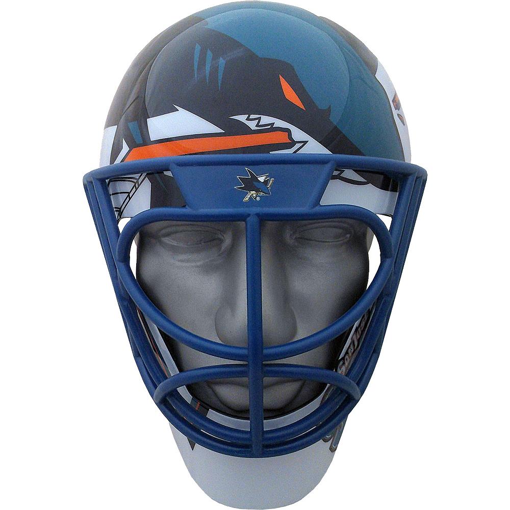 more photos 8b5b8 220d1 San Jose Sharks Helmet Fanmask
